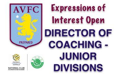 Junior Director of Coaching