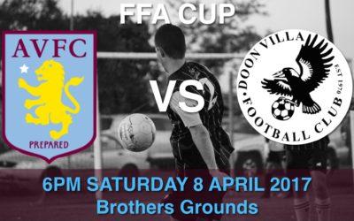 FFA Cup BAVFC v Doonvilla FC